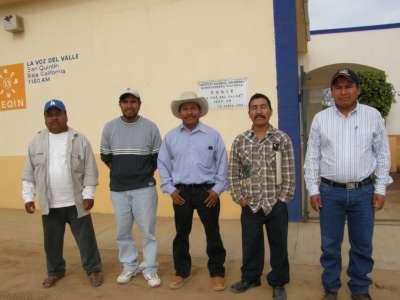 Autoridades de Nuevo San Juan Copala Ensenada Baja California Sur