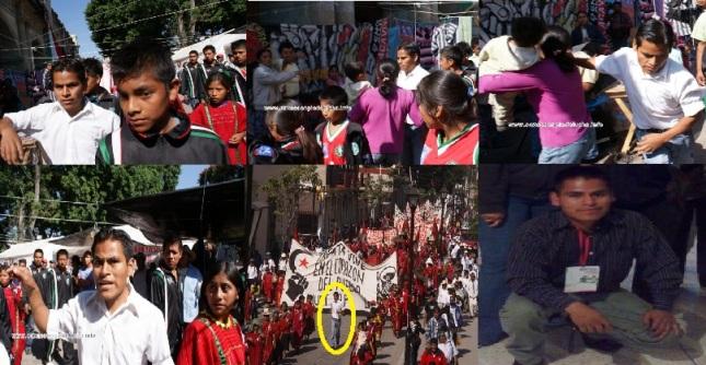 Eleazar Ortíz Ramírez sicario y pistolero de Movimiento de Unificación y Lucha Triqui MULT- Partido Unidad Popular de Oaxaca